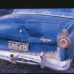 Ford sedan - dinted